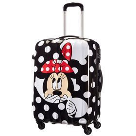 American Tourister Disney Legends Minnie Dots średnia walizka