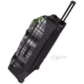 Chiemsee Hama Holiday Plaid Black torba podróżna na kółkach