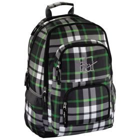 """All Out Louth plecak szkolny 45 cm / laptop 15,6"""" / Forest Check"""
