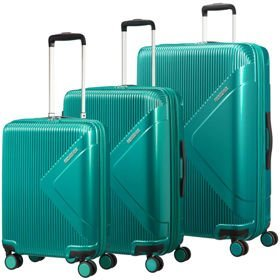 American Tourister Modern Dream zestaw walizek / komplet / set / zielony