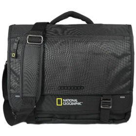 "National Geographic TRAIL torba na ramię na laptopa 15,6"" / RFID / czarna"
