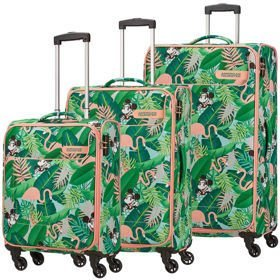 American Tourister Funshine Disney zestaw walizek / komplet / set / Minnie Miami Palms