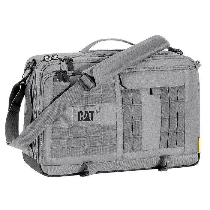 Caterpillar Combat torba na ramię / plecak na laptopa 15,6'' CAT / Iron