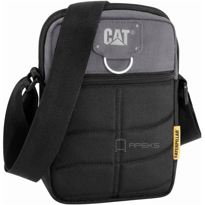 Caterpillar RODNEY saszetka męska na ramię / torba na tablet 5'' CAT / Black / Anthracite