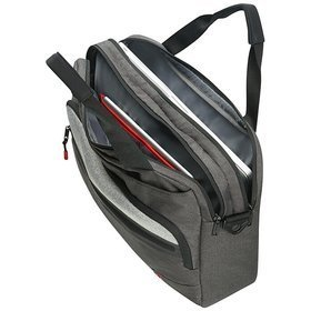 "American Tourister City Aim torba na ramię na laptopa 15,6"" / Anthracite Grey"