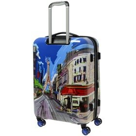 IT Luggage Imprint średnia walizka poszerzana 65,5 cm / Paris Cafe (Day)