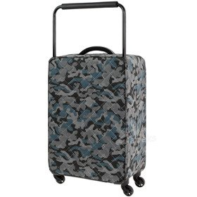 IT Luggage World's Lightest Quilted Camo średnia walizka M 65,5 cm / Warm Grey Camo